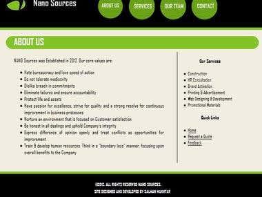Nano Sources