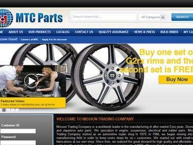 Ecommerce http://mtcparts.com/
