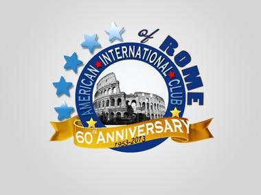 logo designed for american international club of ROME