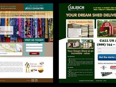 New Client Design Landing Page