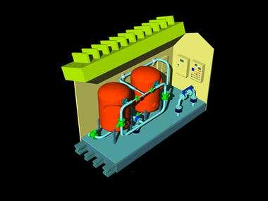 Water Treatmeant Plant made by me