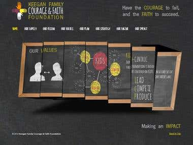 Keegan Family Courage & Faith Foundation website