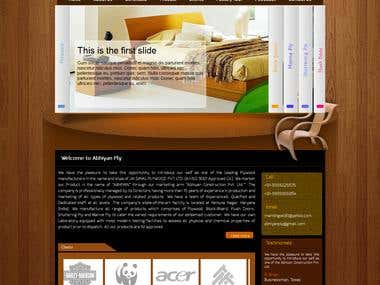 Indian Client Plywood Website