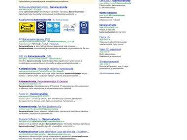 Complete SEO Campaign for iValvontaKamera.net