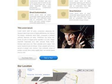 Wordpress Design template