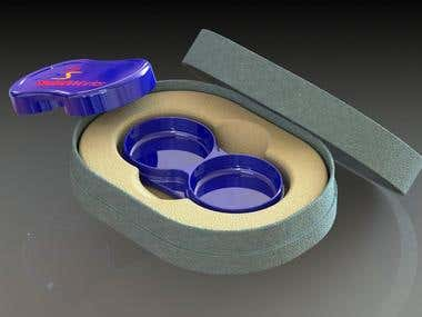 Contact Lens storage design and Packaging