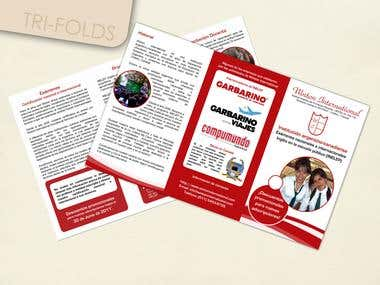 Tri-fold and brochure design