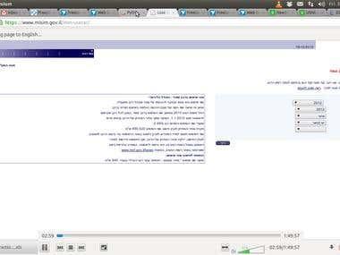 Scraping an ajax based website