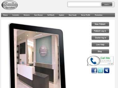Dental Management System http://www.ismilespecialists.com/