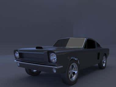 Ford Mustang made by me