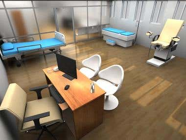 Clinic 3d visualisation