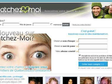 Online Dating Website