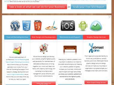 Webmaster Maine Website