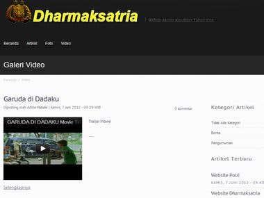 Dharmaksatria - Indonesian Police Website