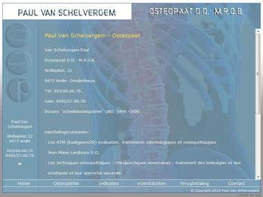 OnSite SEO for Osteovs.be