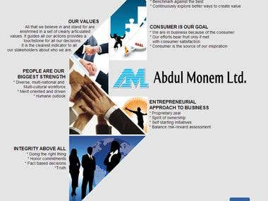An official Web site for Abdul Moneem  LTD