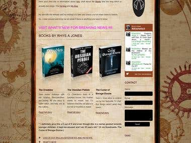 Wordpress Site (rajonesauthor)