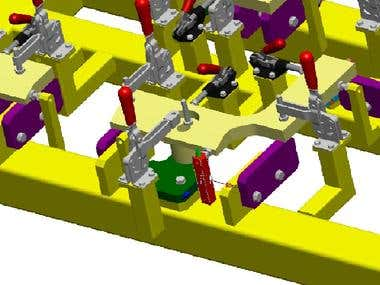 Devices for any machine in Pro Engineering