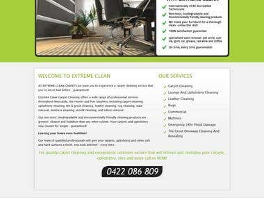Extreme Clean 4 You (Wordpress)