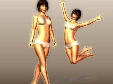 Poser models