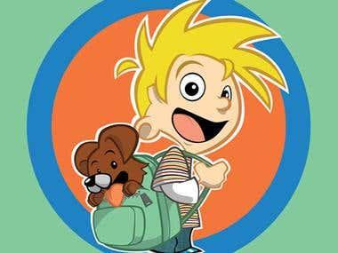 Backpack Mascot