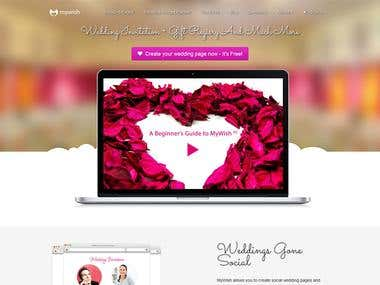 MyWish Wedding Pages