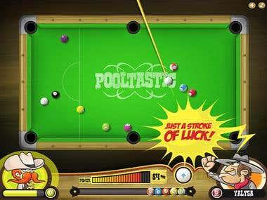 Pool Game for ipad