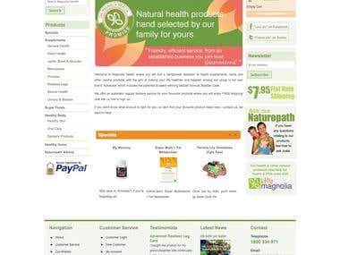 Magnolia - Magento Website