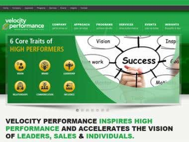 Velocity Performance Website