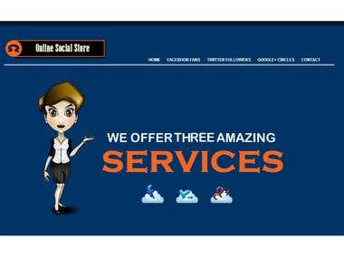 Social Media Services and Web Designing