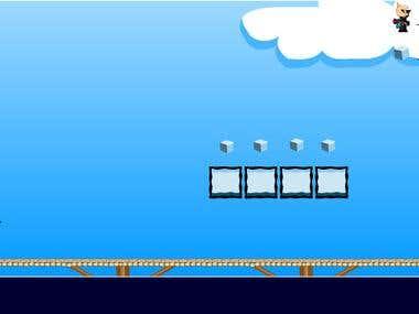 Mario Game Design and code