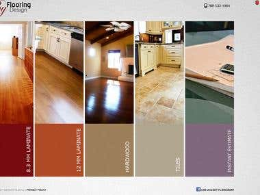 Flooring By Design- Portfolio Website