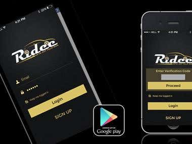 Ridee - The Taxi App