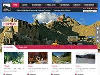 J&K Tourism Department Website Development