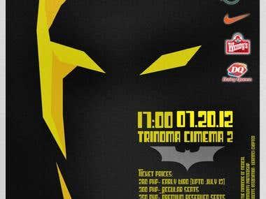 Dark Knight AMSA Poster