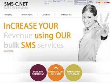 sms-c.net Bulk SMS service