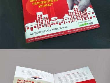 Flyer for an event in Kuwait