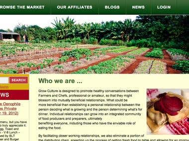Grow Culture Website