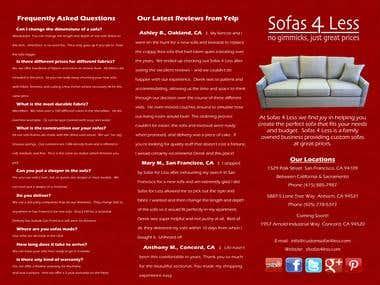 Design Brochure for a company