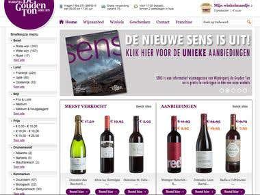Magento Wine store