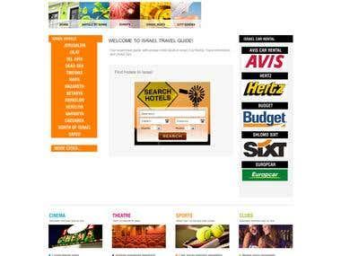 Full Travel Website