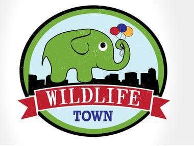 Logo: Wildlife Town