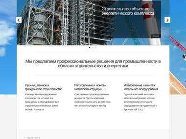 Russian based construction company