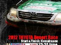 1,000Km Toyota Desert Race - 2012