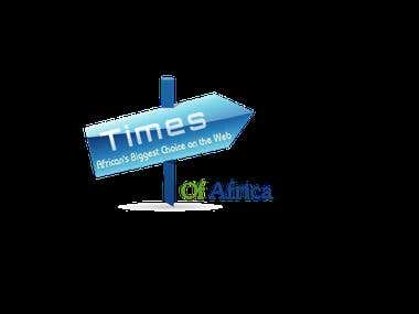 Times of Africa a news paper portal