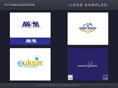 R/F Graphics Design Logo Portfolio 2