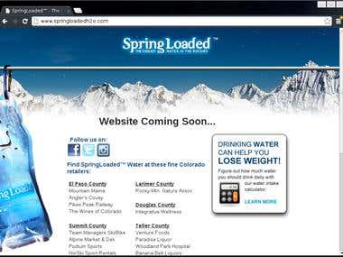 Spring Loaded Water