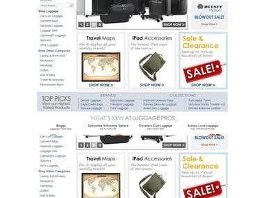 Luggage Sales online