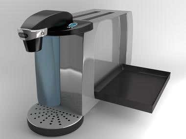 Toaster-coffee maker