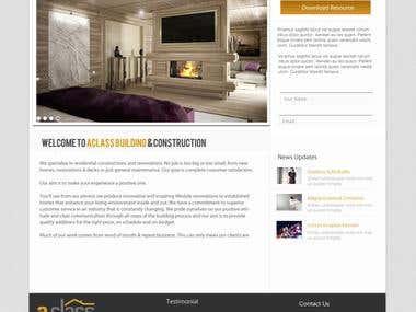 Wordpress, website, Landing page design.